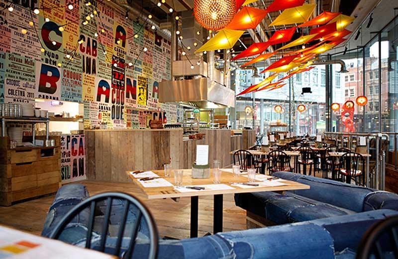 Cabana Brasilian Barbeque i Covent Garden, London