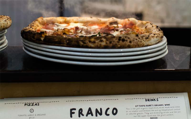 Franco Manca, surdegspizza