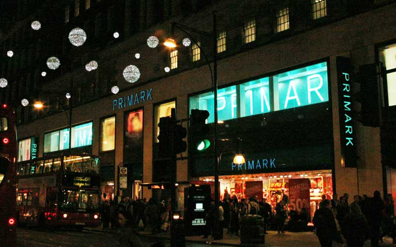 Primark på Oxford Street i London