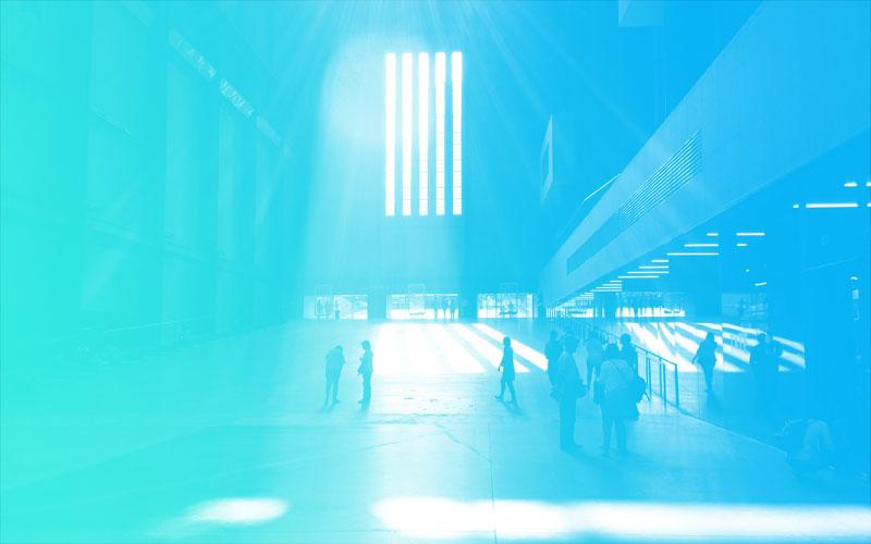 The Turbine Hall på Tate Modern i London