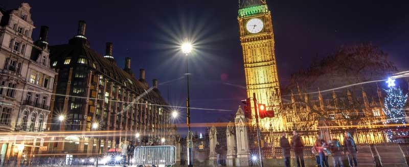 Elizabeth Tower med Big Ben